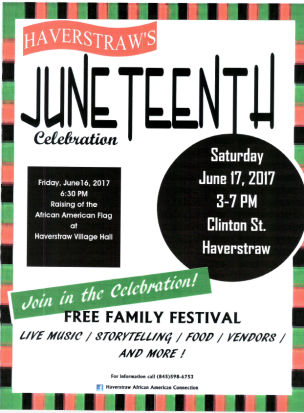 Flyer Juneteenth